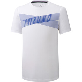 Mizuno Core Graphic T-shirt Heren, white